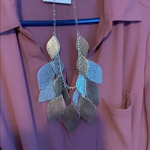 Francesca's Collections Jewelry - Francesca's leaf necklace